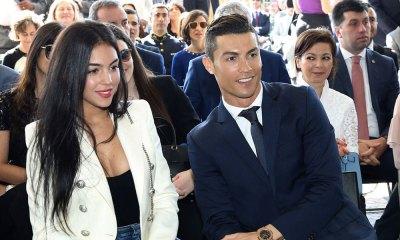 Foto de Cristiano Ronaldo y Georgina Rodríguez