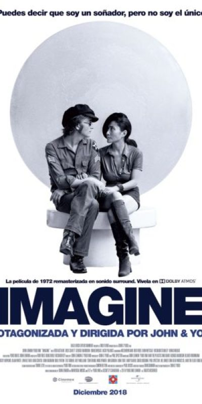 'Imagine': El documental de John Lennon y Yoko Ono llega a México Imagine_One-Sheet_MX-visual-350x500