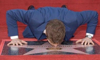 Michael Bublé recibió su propia estrella