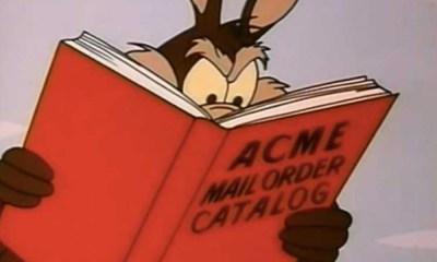 productos marca ACNE que compró el Coyote