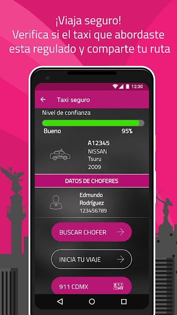 App de Taxi Seguro en CDMX ¿Ya la probaste? unnamed