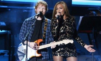 Beyoncé y Ed Sheeran cantarán juntos