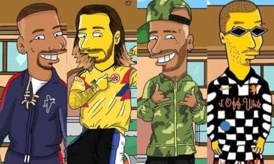 Maluma, Nicky Jam y J Balvin saldrán en 'The Simpsons'