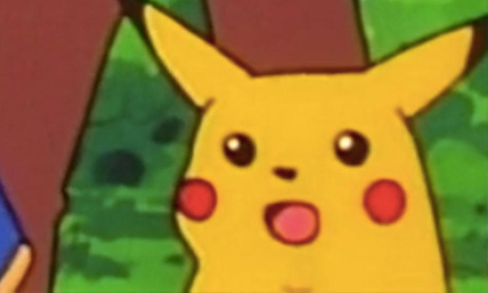 Este es el origen del meme de Pikachu famoso en todo el mundo
