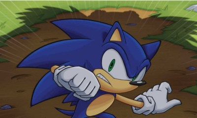 Primer póster de la película de Sonic
