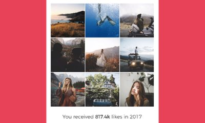 fotos más populares del 2018 en Instagram