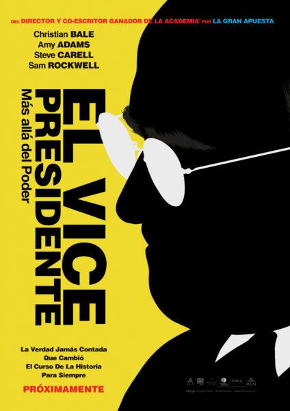 'Vice' llegó a los Golden Globes con múltiples nominaciones Vice_Onesheet_Latam
