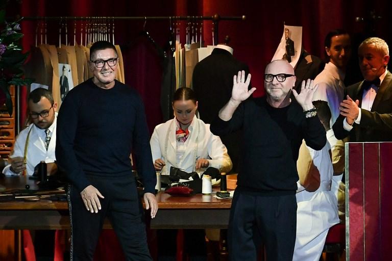 Tras polémica D&G brilla en Semana de la Moda Masculina de Milán 000_1C64GP