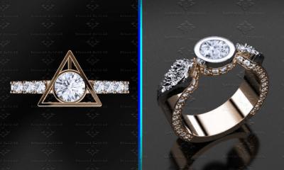 anillos de boda de 'Harry Potter'