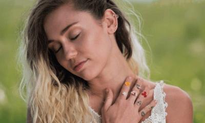 Miley Cyrus publicó sensuales fotos