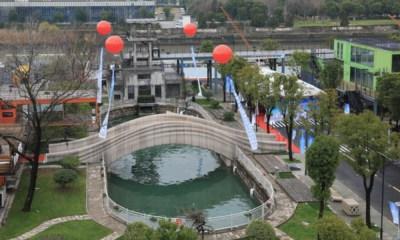 puente peatonal impreso en 3D