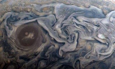 Júpiter parecen cuadros de Van Gogh
