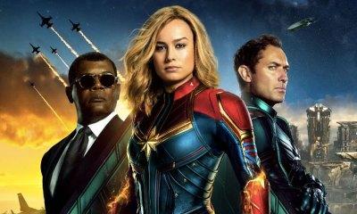 nuevo poster oficial de 'Captain Marvel'