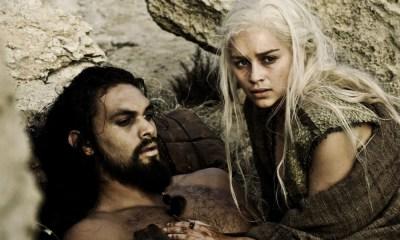 Daenerys y Khal Drogo en los Oscar