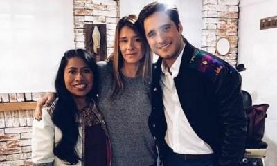 Diego Boneta y Yalitza Aparicio
