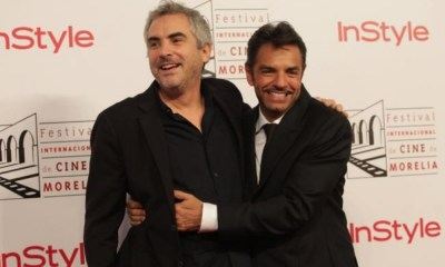Eugenio Derbez y Alfonso Cuarón