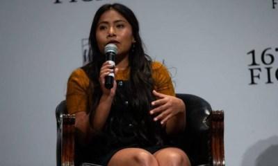 Yalitza Aparicio respondió a críticas