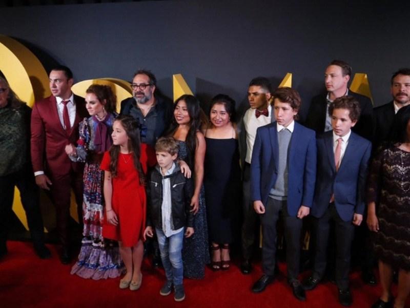 elenco de 'Roma' en la vida real