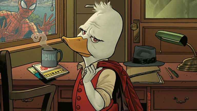 ¿Ya viste? Marvel y Hulu crearán cinco series animadas para Disney+ howard_the_duck_cover