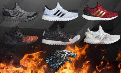 lanzamiento de los tennis de 'Game of Thrones' de Adidas