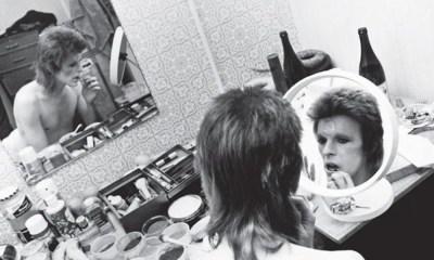 primer póster de la película de David Bowie