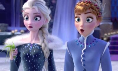 primer teaser trailer de 'Frozen 2'