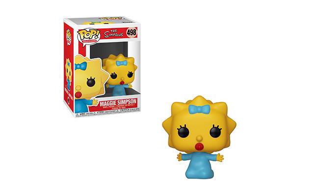 Porque uno no es suficiente, crean más Funko Pop de 'The Simpsons' thesimpsons-maggie-pop-glam-large