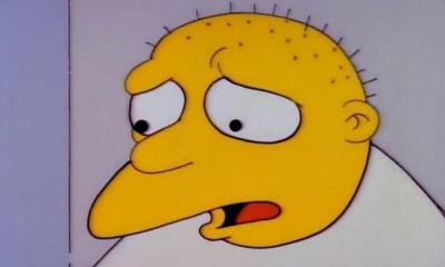 Michael Jackson de 'The Simpsons'