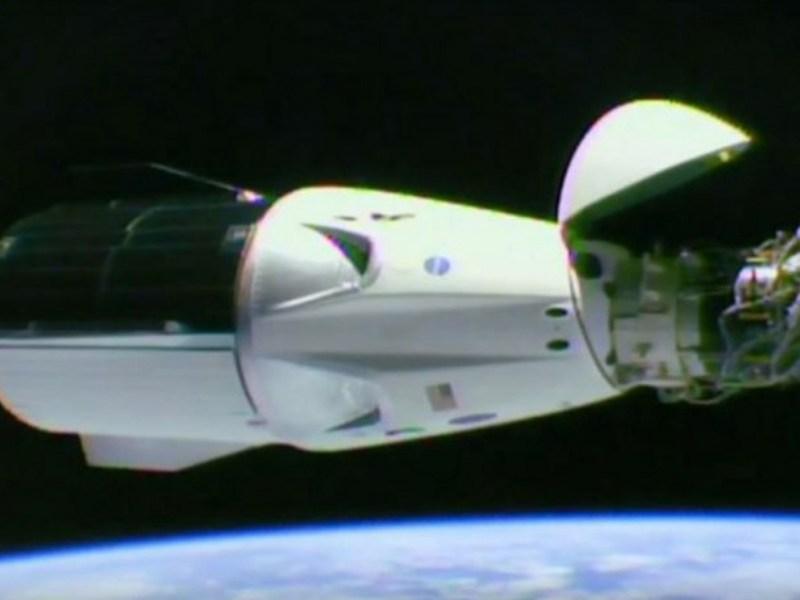 SpaceX lanzó el Crew Dragon-2