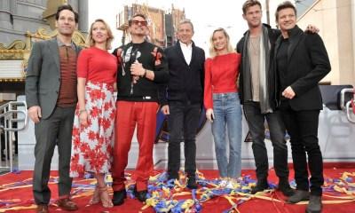 Avengers visitan Disneylandia
