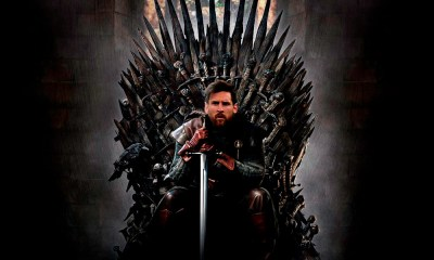 Messi para ocupar el trono de 'Game of Thrones'