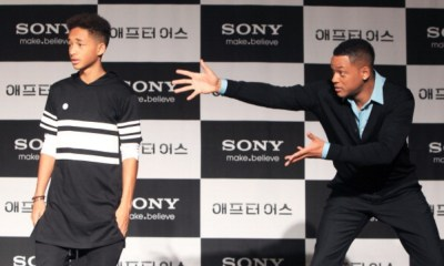 Will Smith y Jaden Smith cantaron en Coachella