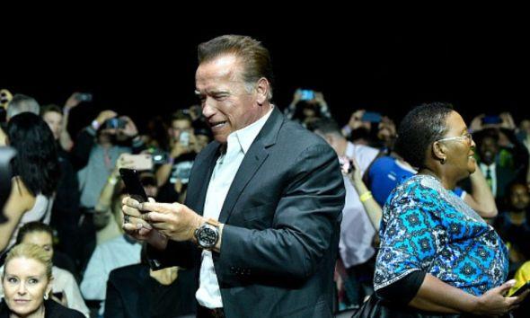 Atacan a Arnold Schwarzenegger