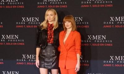 Sophie Turner y Jessica Chastain