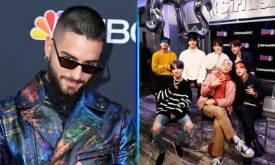'BTS' robó cámara a Maluma, BTS en los BBMAs 2019, BBMAs 2019