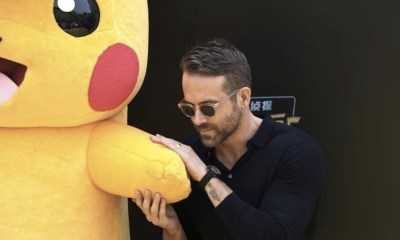 Ryan Reynolds filtró la película de 'Detective Pikachu'