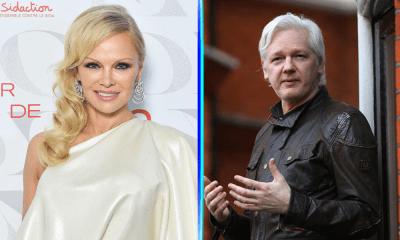 Pamela Anderson defendió a Julian Assange