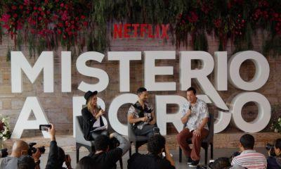 Adam Sandler presentó 'Misterio Abordo' en México