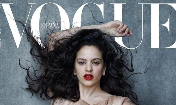 Rosalía es la portada de Vogue