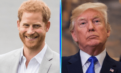 El príncipe Harry evitó a Donald Trump
