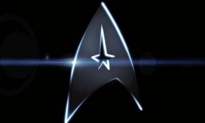 Logo de 'Star Trek' en Marte