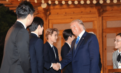 Grupo de K-pop recibió a Donald Trump