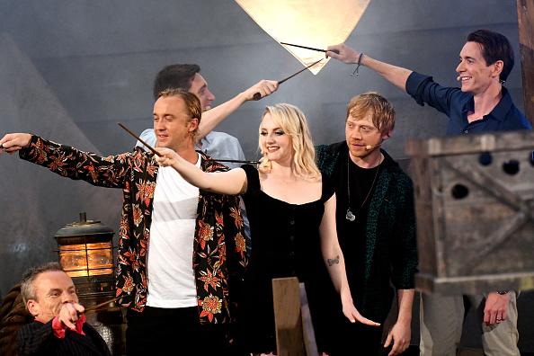 Actores de 'Harry Potter' se reunieron para inaugurar una nueva atracción gettyimages-1155355987-594x594