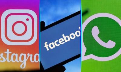Caída de Instagram, Facebook y WhatsApp