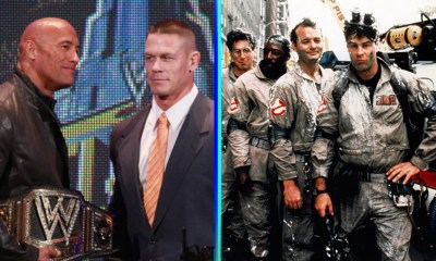 John Cena y 'The Rock' ahora son 'Ghostbusters'
