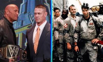 John Cena y 'The Rock' ahora son 'Ghostbusters'