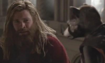 Filtraron la escena eliminada de 'Thor' y 'Rocket'