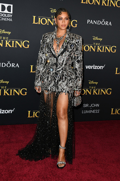 """Desde África"" llega Beyoncé a la premiere de 'The Lion King' gettyimages-1161072036-594x594"