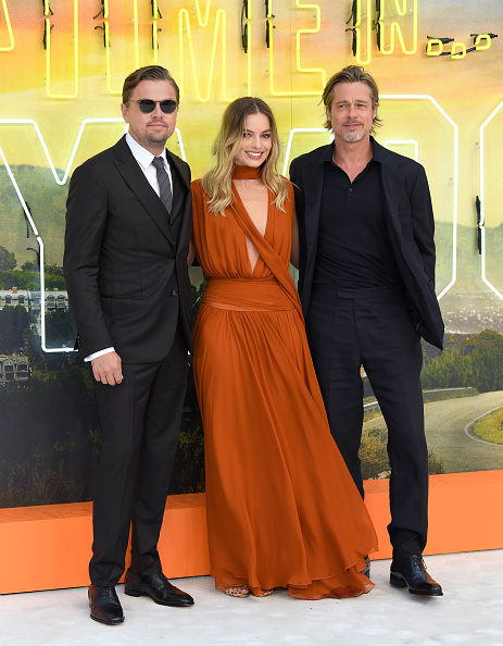 "Robbie, DiCaprio y Pitt se ""roban"" la premiere de 'Once Upon a Time in Hollywood' en Londres gettyimages-1165210756-594x594"