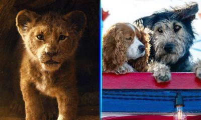'La Dama y el Vagabundo' triunfará sobre 'The Lion King'